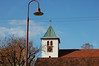 Church and Lamp in Mittlebrunnen, Germany