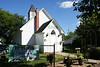 Church converted to souvenir shop in small Saskatchewan village.