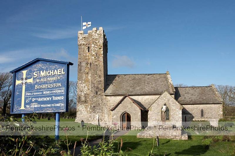 St Michael's Church, Bosherston