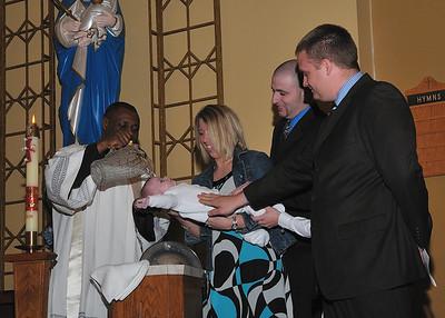 Clayton's Baptism St. Anthony's