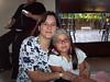Ximena con su hija, la Sofi