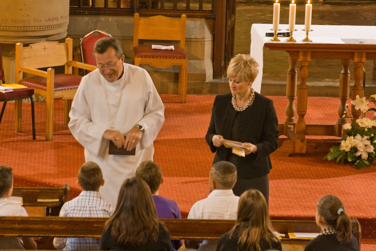 Confirmation with Bishop Chris 2009