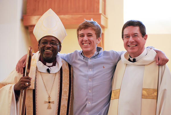 Confirmation & Bishop Curry visit