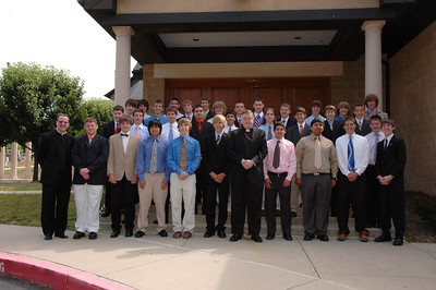 Confirmation Ceremony at St. Francis de Sales Church 2007