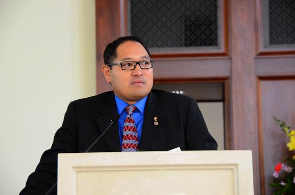 Corpus Christi KofC Install New Officers August 2014