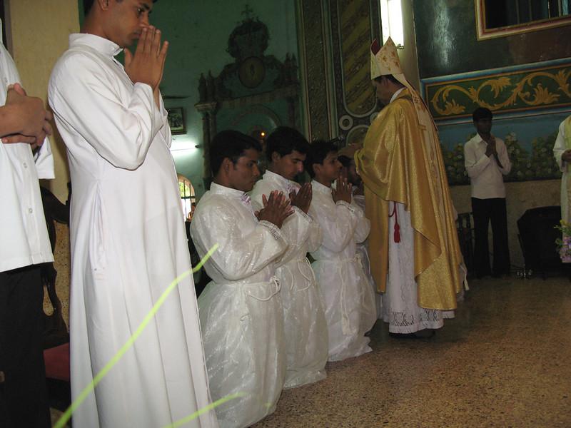 Aji is ordained.