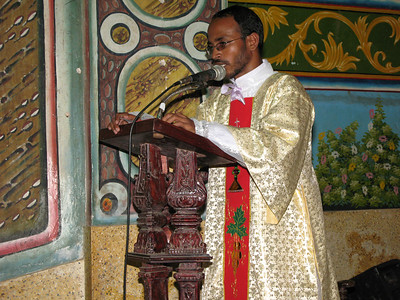 Deacon Aji gives thanks, in the name of all the newly ordained deacons.