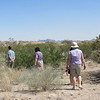 Several principals had a short experience walking through the Chihuahua Desert to gain a sense of the severe conditions many immigrants suffer as they attempt to cross it to the US.