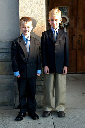 Dusty's 1st Communion