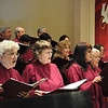 Members of St. John's (Oakland) chancel Choir, performing Mozart's Requiem on Palm Sunday
