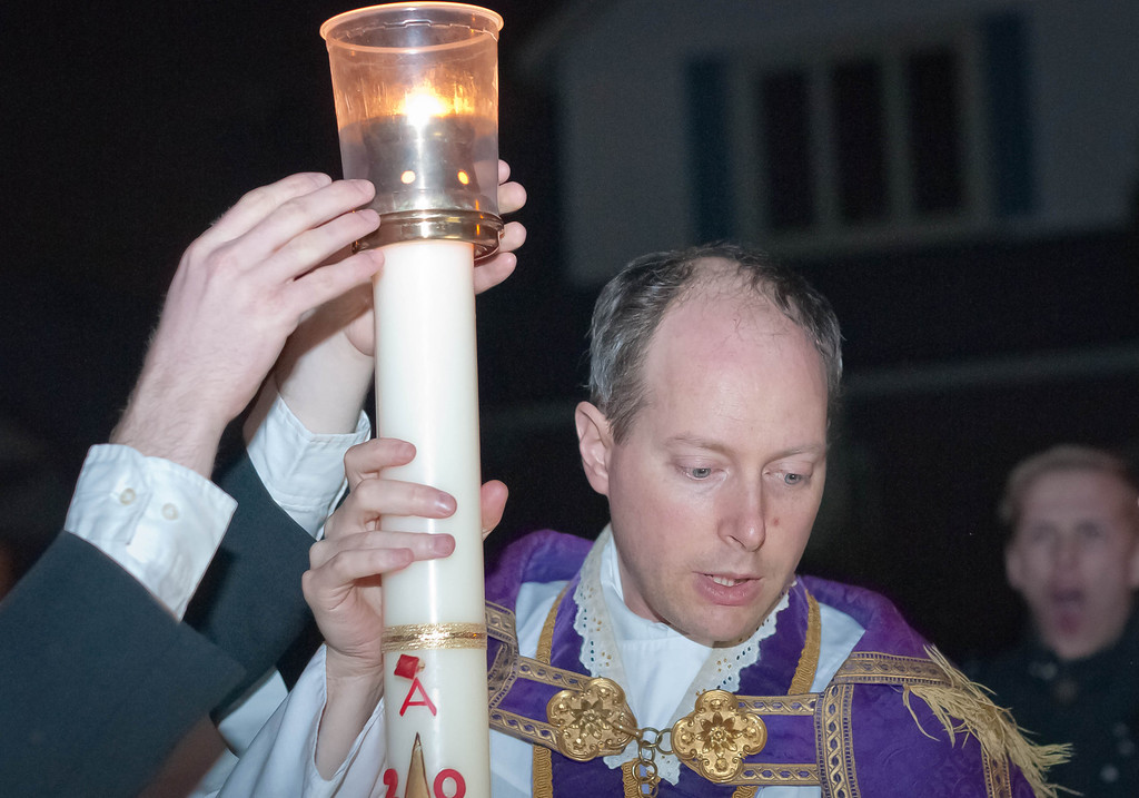 Lighting of Candle