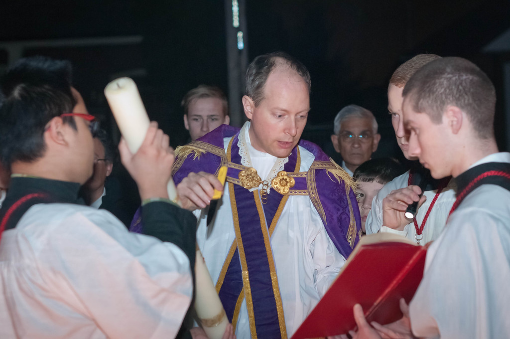 Preparation of the Easter Candle