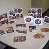 photos from the pysanky egg workshop on display