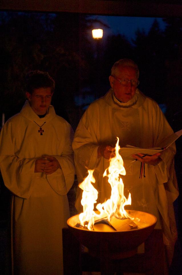 Easter Vigil at St.John Bosco