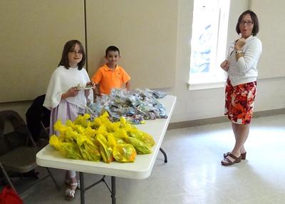 Easter Fellowship Hour 2013