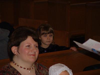 Erin's Baptism - Jan 15, 2006