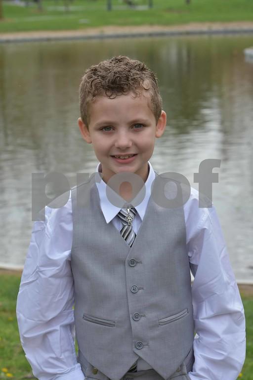 Evan S's Communion Pics.