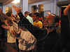 "Church-goers pray during an Assembly of God church service in a slum of Rio de Janeiro, Brazil. With most state functions absent in Rio's far of neighborhoods, the church pastor and the ""ministers""  find it easy to make converts of drug trafficker and others with their agressive recruitment campaign. (Australfoto/Douglas Engle)"