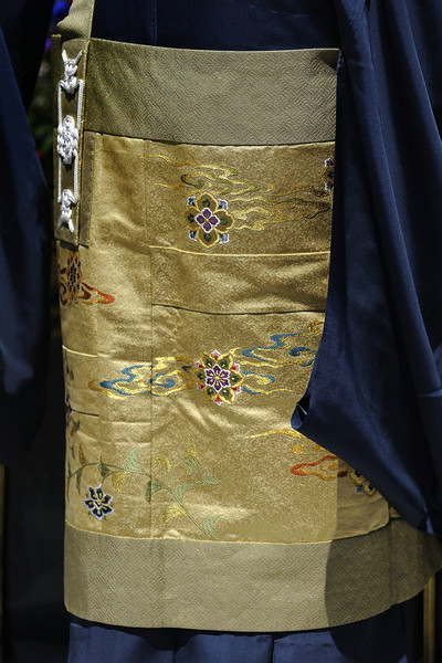 Kesa worn by one of the clerics.