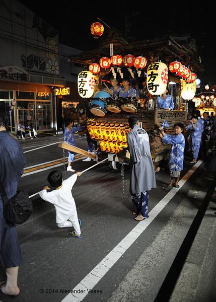 Dashi procession