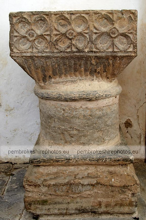 Font, Manordeifi Old Church.