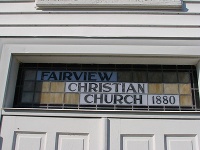 Fairview Christian Church, Hood, VA Building Dedication Nov. 23, 2008