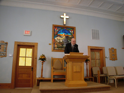 Fairview Christian Church, Hood VA, Building Dedication Nov. 23, 2008
