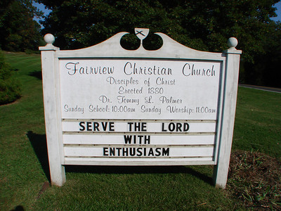 Fairview Christian Church, Hood, VA