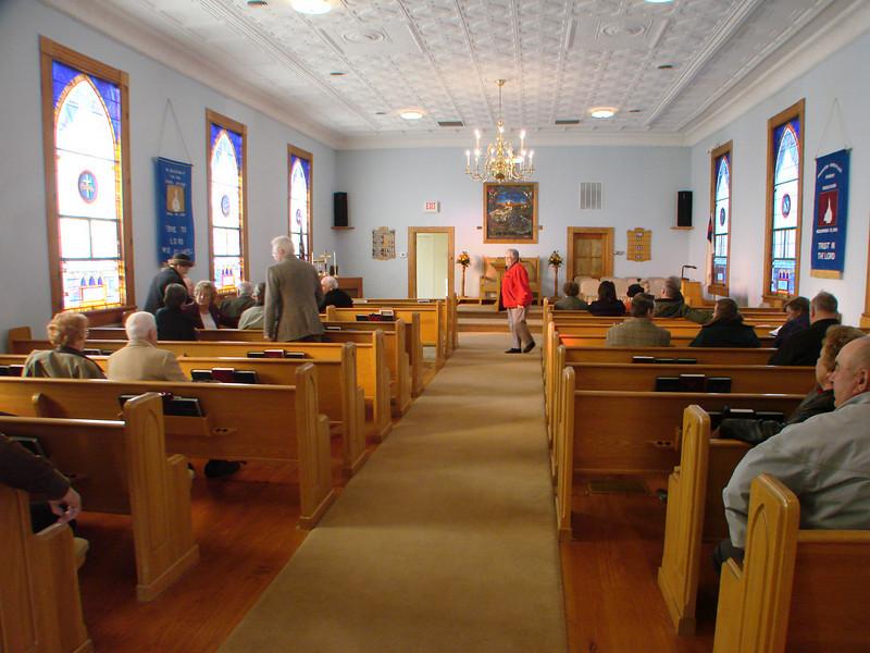 Fairview Christian Church, Hood VA, Building Dedication Nov. 23, 2008