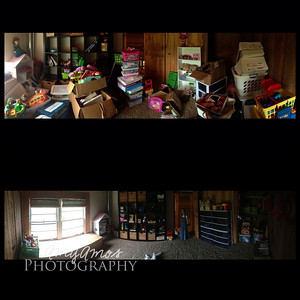 Before and After: Playroom.