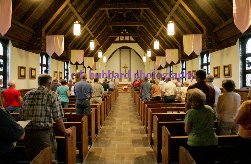 E.L. Hubbard Photography<br /> The annual Farm Mass was held at Sts. Peter and Paul Church in Newport, Ohio Friday, May 15. The Mass was held indoors because of the fear of inclement weather.