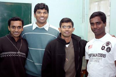 (L to R) Martin Kadamattu Antony, Bala Jojappa Kakumanu, Jojappa Chinthapalli, Christy Peter Chittapanezhikathuvila