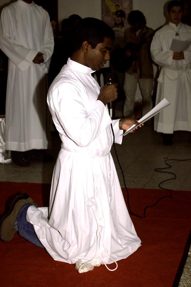 Christi Peter Chittapanezhikathuvila, SCJ makes his Final Vows.