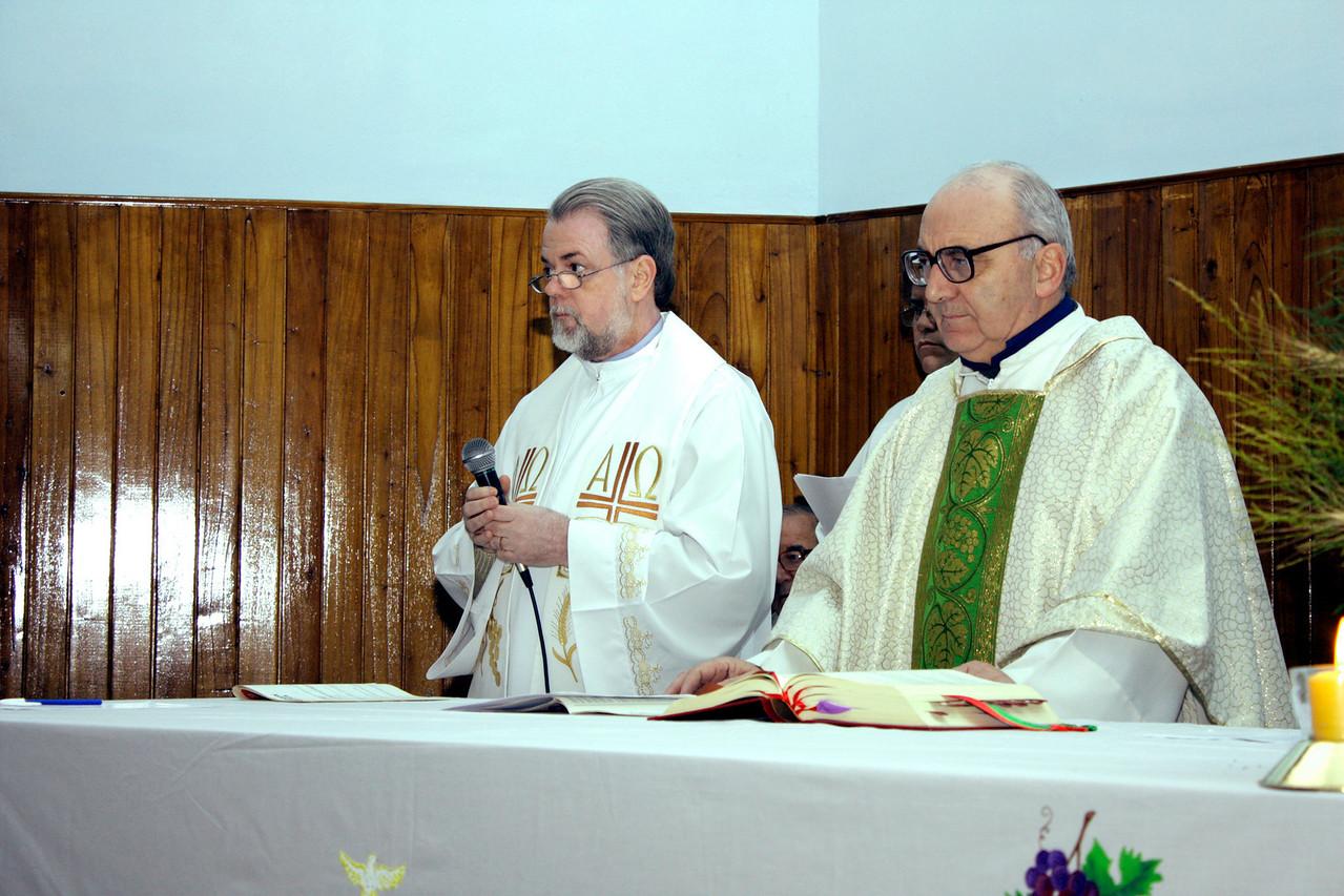 Fr. Sebastian, SCJ (Brazil) and Fr. Eduardo, SCJ (Argentina - not shown)) questions the brothers regarding their readiness to make Final Vows.