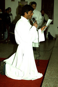 Bala Jojappa Kakumanu, SCJ makes his Final Vows of Chastity, Poverty, and Obedience.