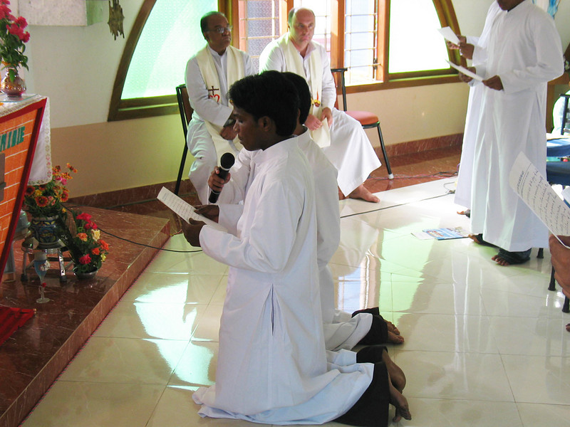 Anil Kumar Gajula makes his First Vows.