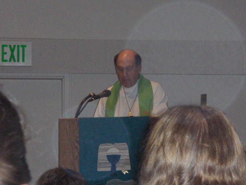 Steve shares the bible readings