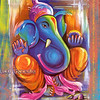 Ganesha - the elephant headed deity - the Hindu god of success