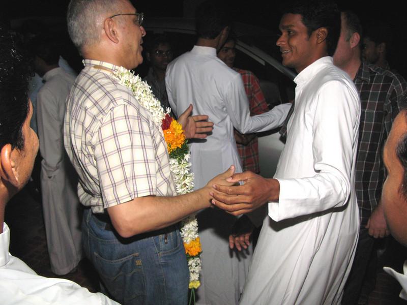 Fr. General greets Fra. Roy.