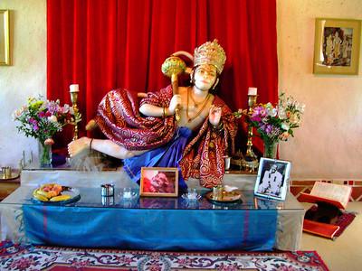 Hanuman Visit
