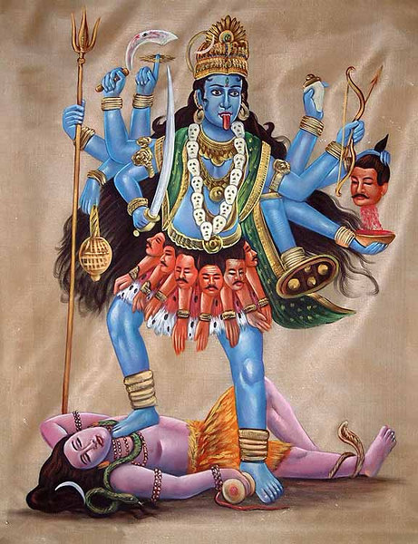 Kali The Governor of Time