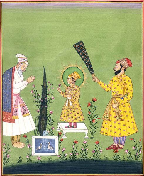 Raja Jai Singh Pays Homage to Child Saint Guru Harkishan