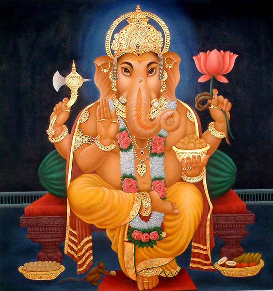 Omnipotent Ganesh