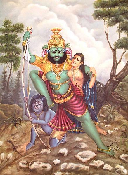 The Abduction Of Sita Maya