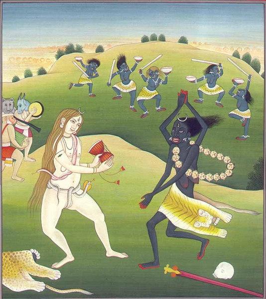 shiva and kali dance