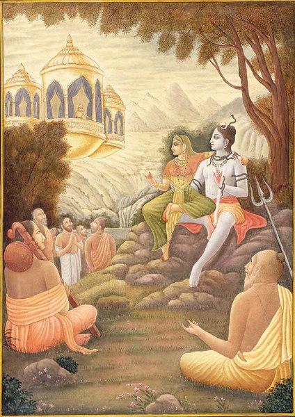 lord shiv awaiting tripura