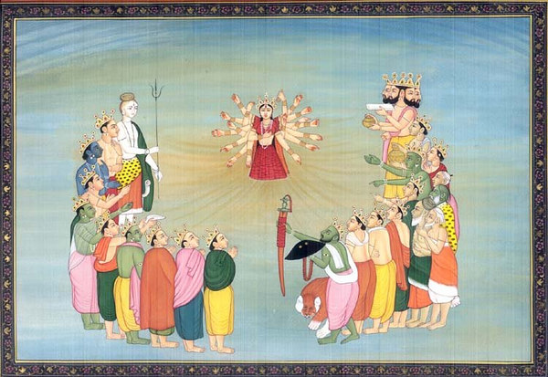 creation of devi