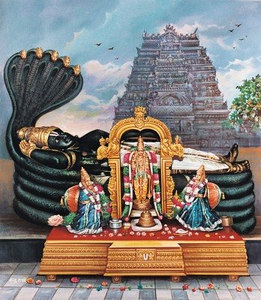 Sri Ranganathji in Sri Rangapatnam