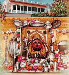 Deity form (murti) of Hanuman
