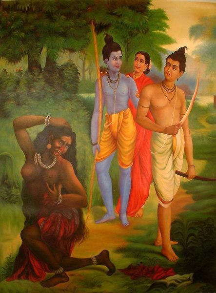 The Humiliation of Swarupnakha